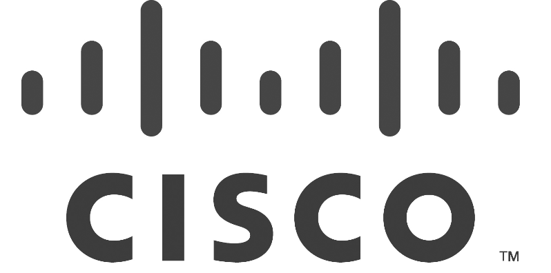 Grayscale Cisco Logo