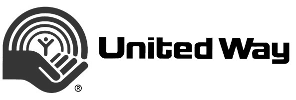 Gray and black United Way logo